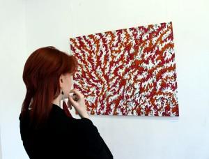 """Vilniuje """"Novi Homines Galerijoje"""" duris atvėrė Gedimino Bytauto grafikos darbų paroda """"Tinklas"""""""