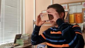 Google akiniais susidomėjo ir kompiuterių priežiūros inžinierius Marius Smilingis, dirbanti Kretingos Jurgio Pabrėžos Universitetinėje gimnazijoje