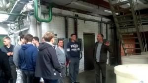 Jauniesiems programuotojams pristatyti vandens valymo įrenginiai, automechanizuotai pakeitę žmogiškąją darbo jėgą.