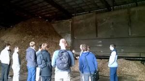 """UAB """"Kretingos šilumos tinklai""""  direktoriaus pavaduotojas gamybai Aidas Keblys pristatė medžio drėgmės matavimo būtinybę bei priemones."""