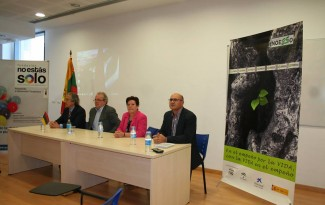 Event in Almeria, Spain. From the left: representative from prison system of Spain, major of Almeria city, President of NOESSO and Director of NOESSO.